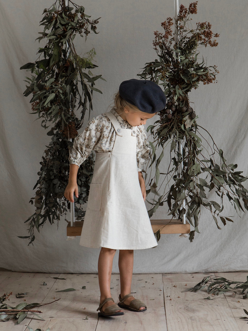 HADDI PINAFORE | NATURAL