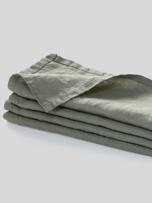 IN BED | NAPKIN SET | STONE