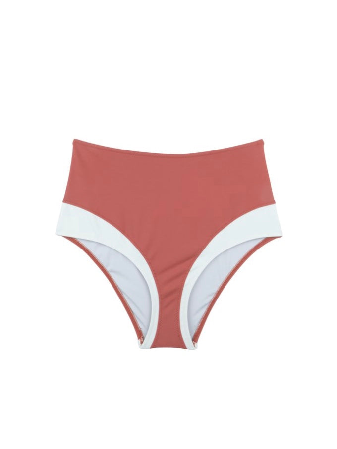 SURO SWIMWEAR | MOON H BOTTOM | CLAY