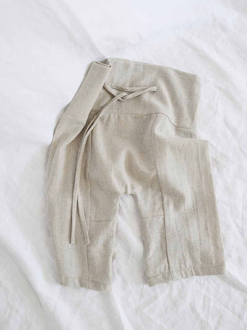 SANJIN TROUSER | NATURAL