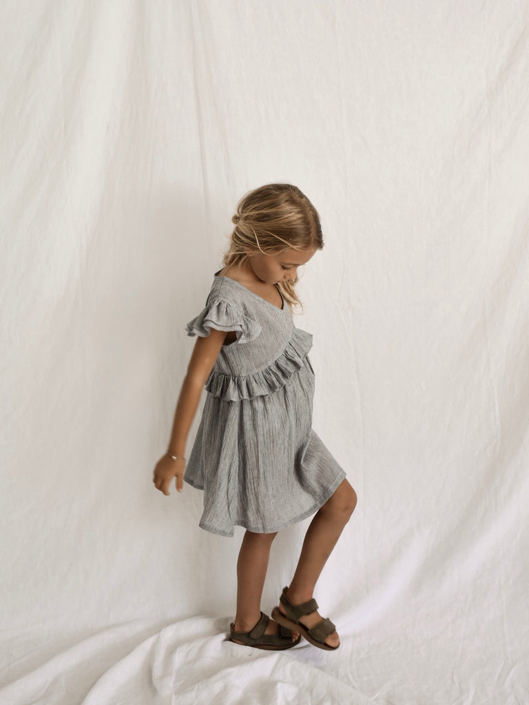 GABRIEL DRESS | FRENCH STRIPE