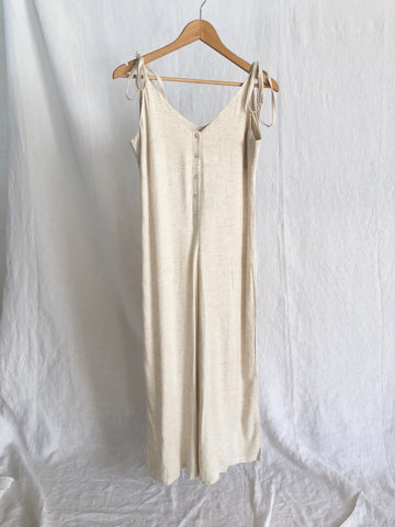 LAURENT ROMPER | WHITE