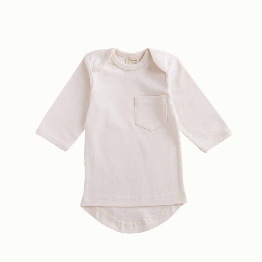Nature Baby Long Sleeve Pocket Tee