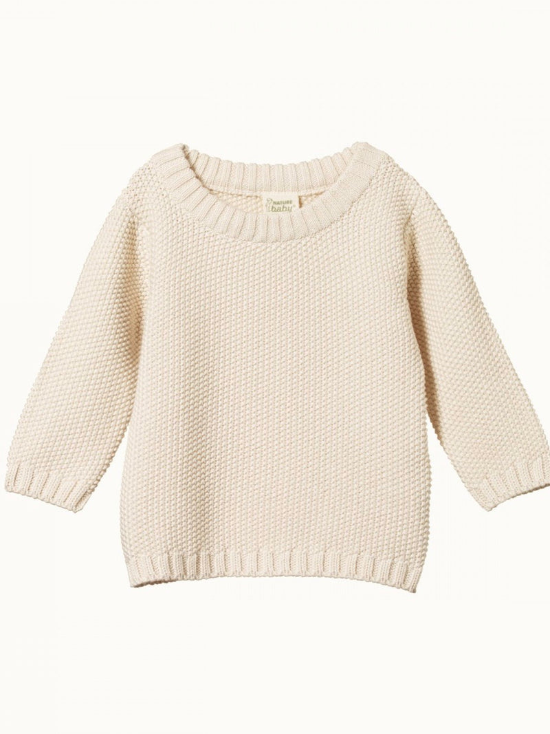 Nature Baby | Billy Jumper Natural size 4
