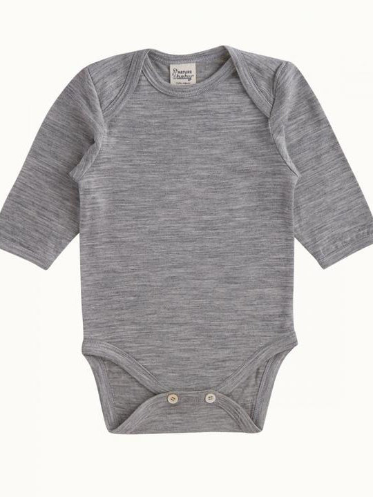 Nature Baby | Merino Long Sleeve Bodysuit