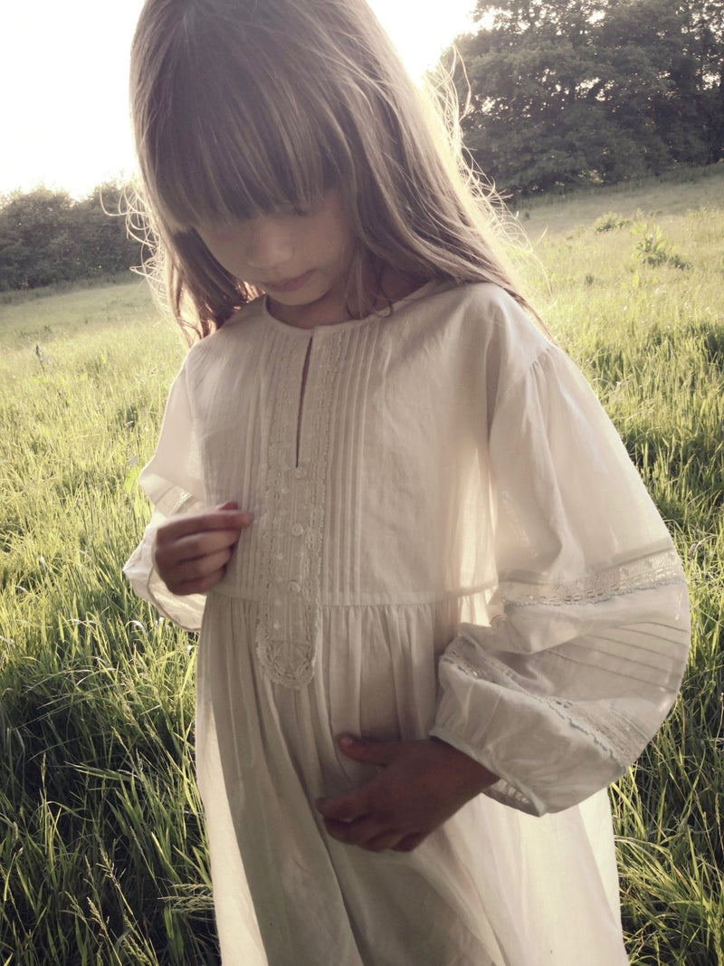 Faune | The Maple Dress | VINTAGE WHITE