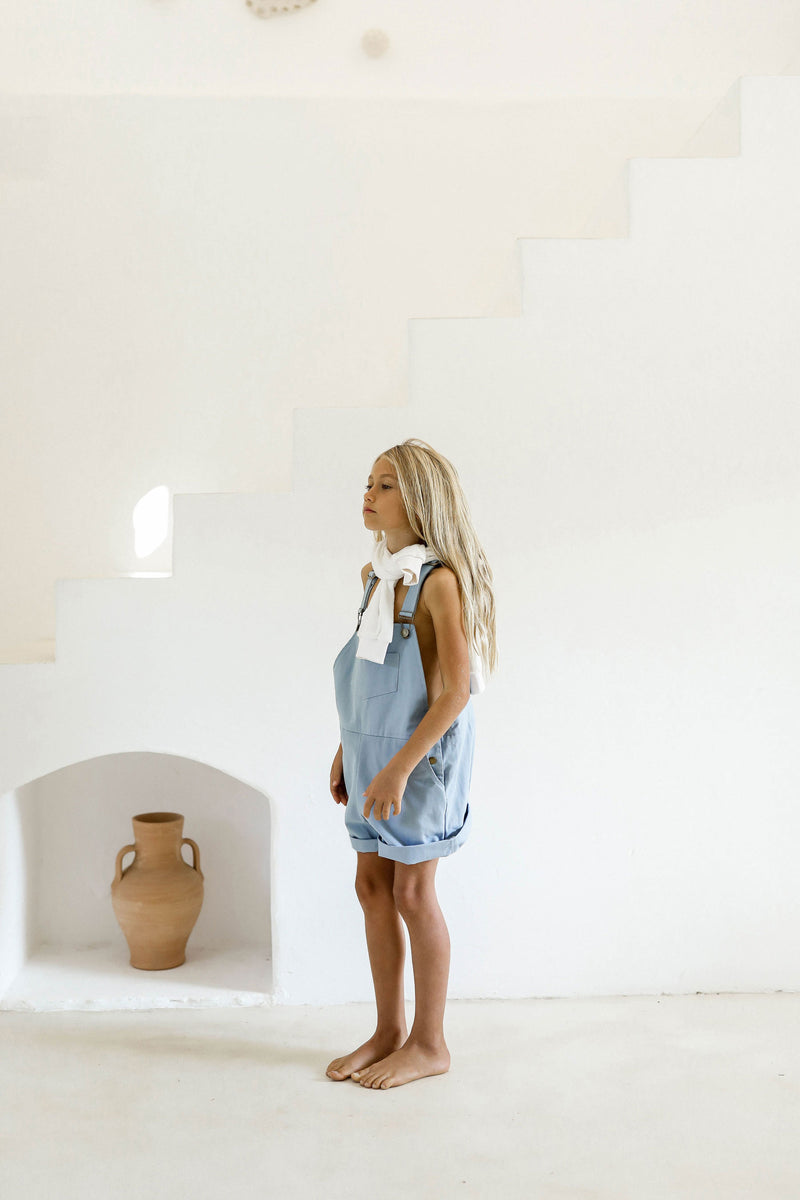 Unai Overalls | Swedish Blue