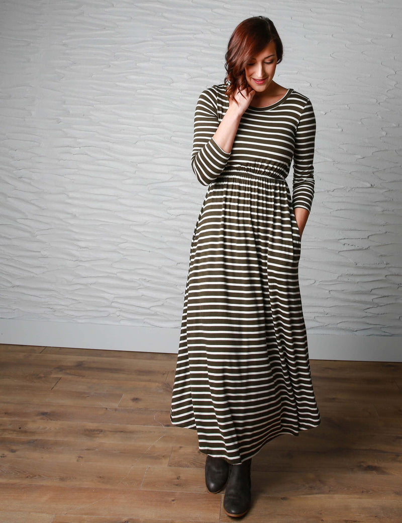 The Best in Stripes - Dresses For Winter