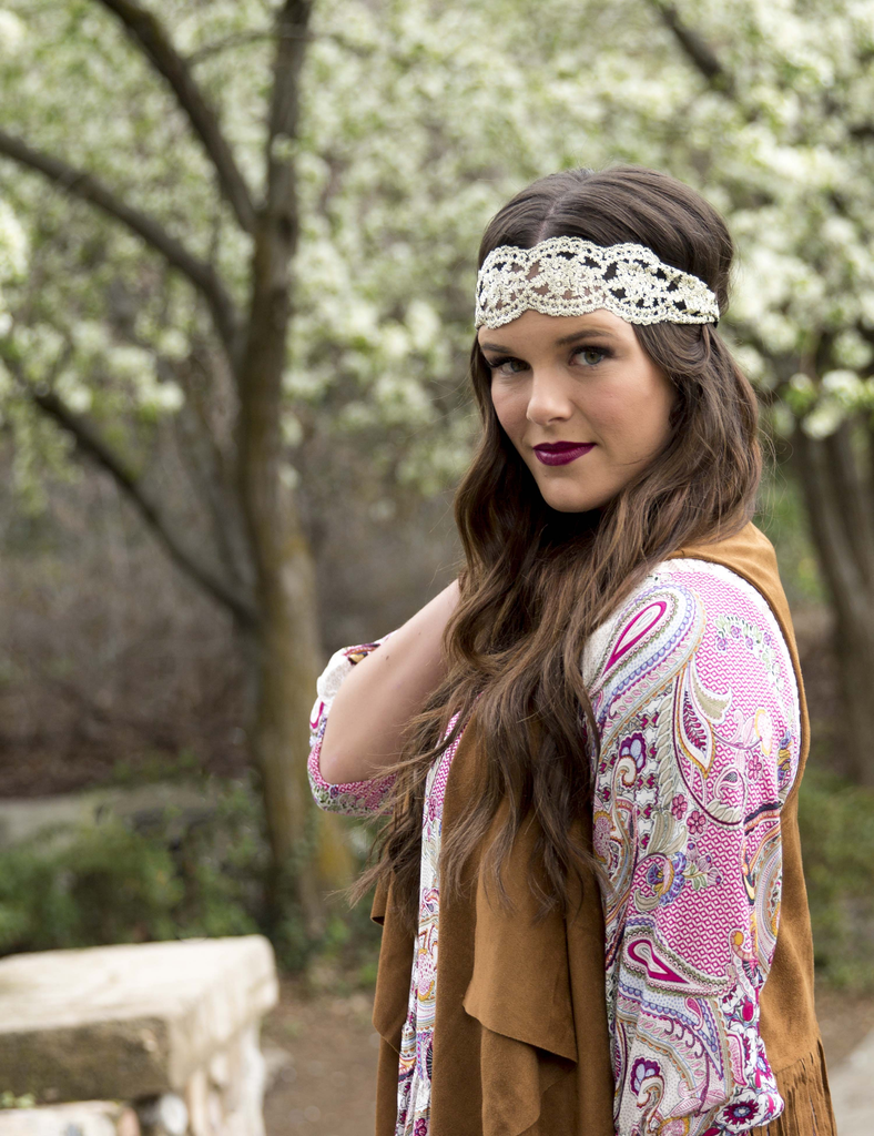 Vintage Lace Headbands