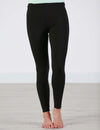 SA Exclusive Black Solid Leggings