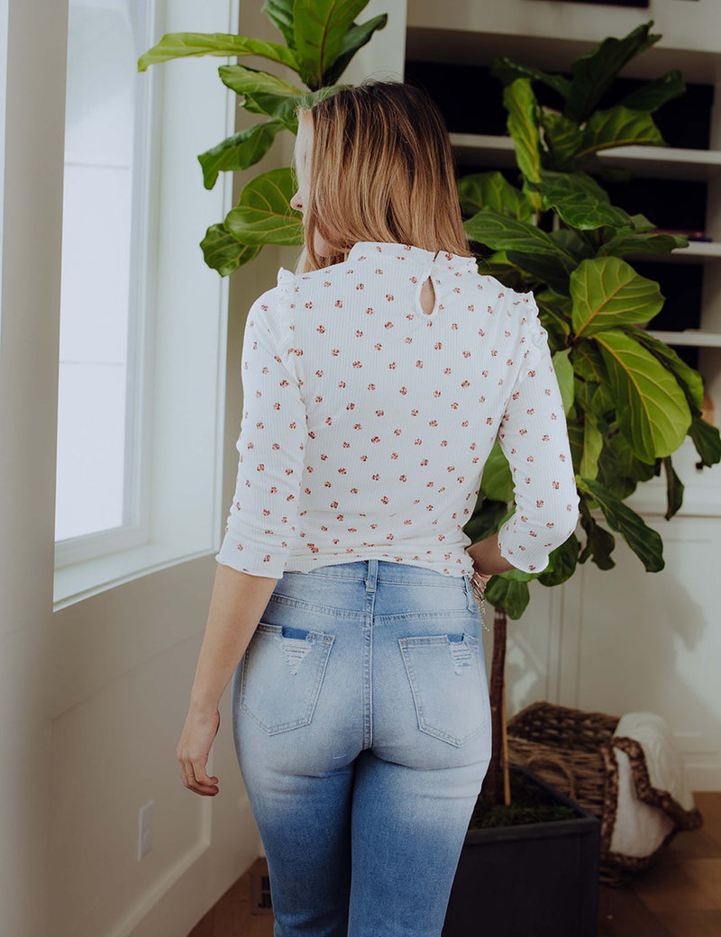 Dainty Blooms Top