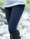 SA Exclusive Navy Solid Leggings