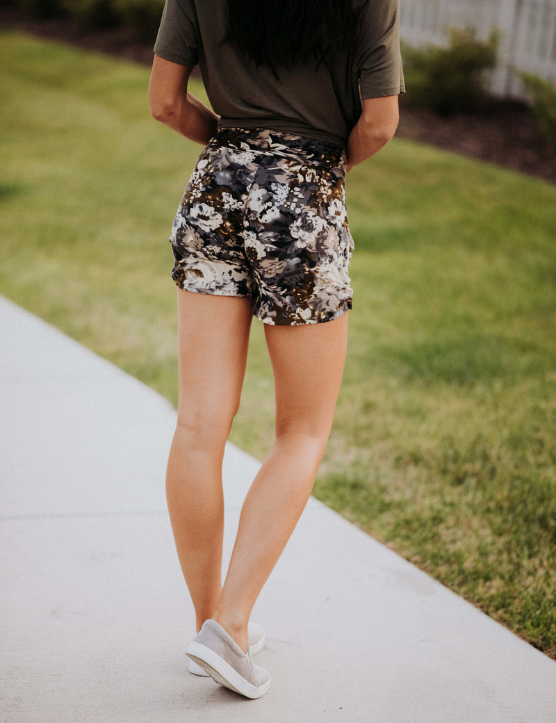 SA Exclusive Falling For Floral Harem Shorts