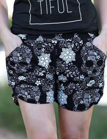 SA Exclusive Elephant Expedition Harem Shorts