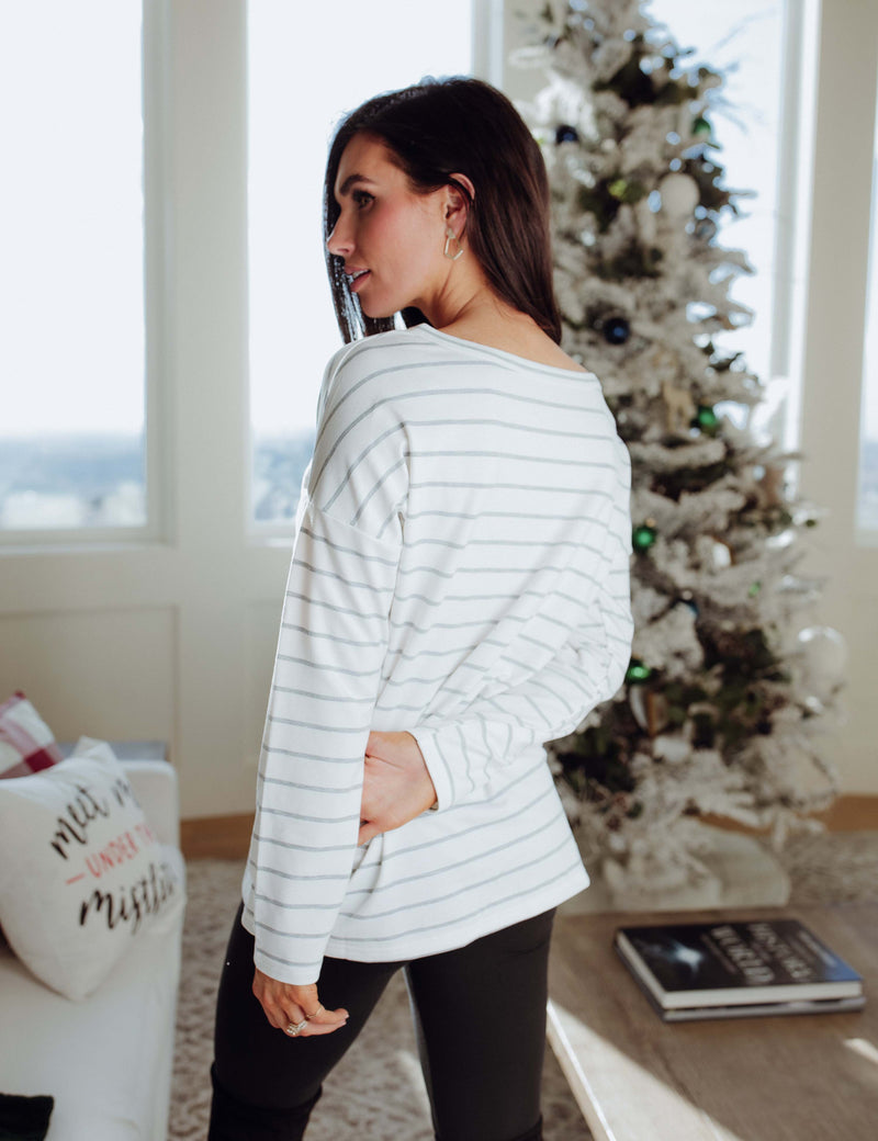 Lead You Home Stripe Top
