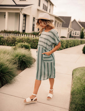 Look At Me Now Stripe Dress