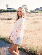 Medley in Love Floral Top