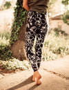 SA Exclusive Navy Petal Pleasure Leggings