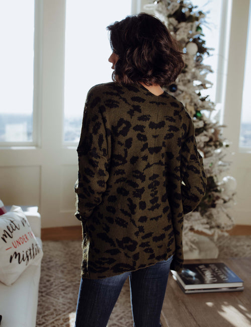 Need You Now Leopard Cardigan