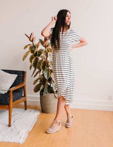 Tell You the Truth Stripe Dress