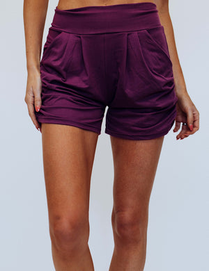 SA Exclusive Purple Harem Shorts