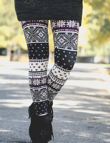 SA Exclusive Baby It's Cold Outside Leggings
