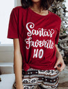 Santa's Favorite Ho Graphic Tee