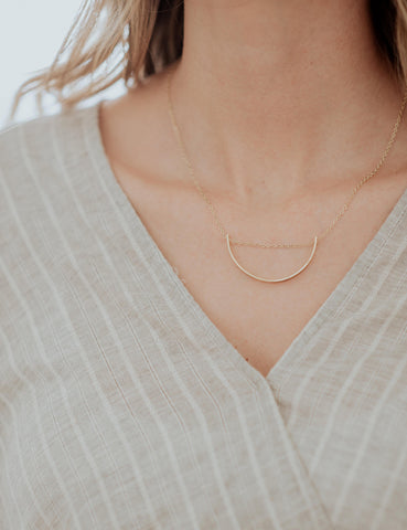 Simple Hex Necklace