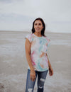 Show Your Devotion Tie Dye Top