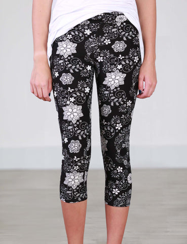 SA Exclusive Floral Bliss Leggings