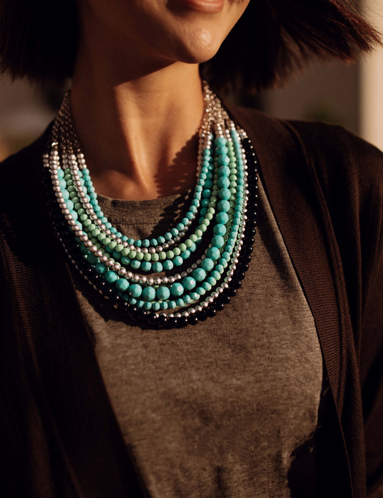 Stella Beaded Necklace