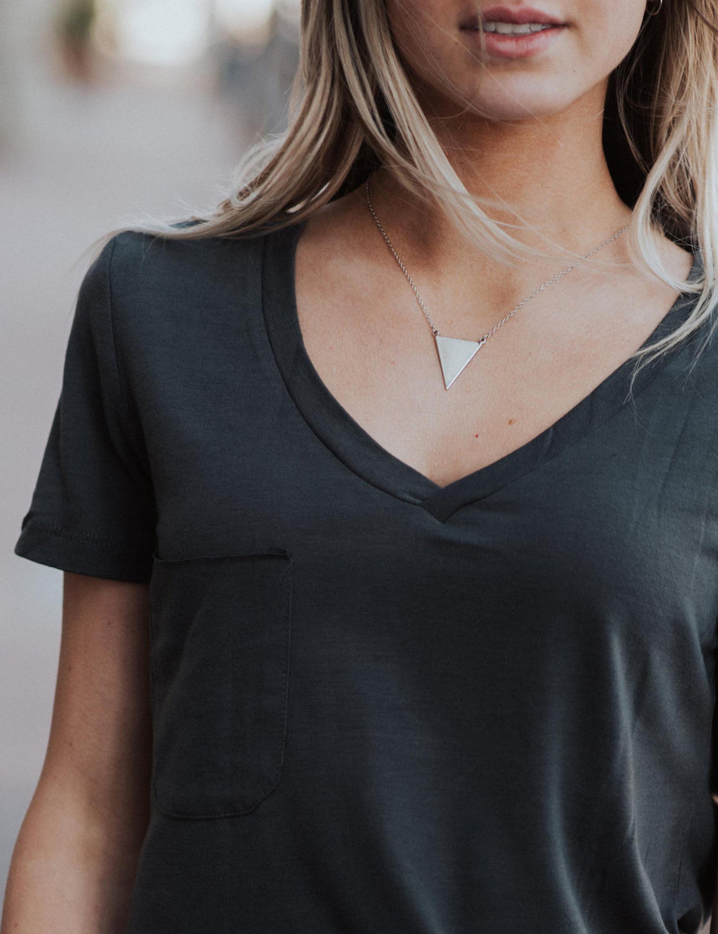 Triangle Bliss Necklace