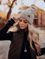 Woven with Love Furry Beanie
