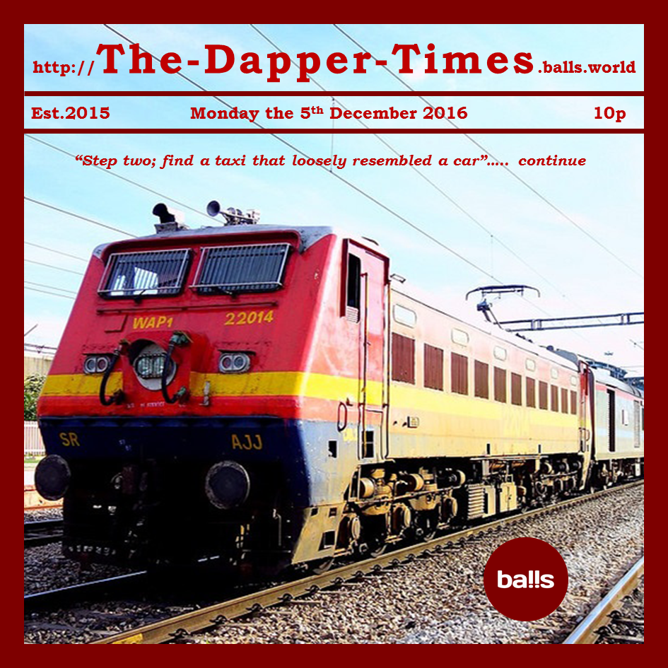 The Von Dapper Express – China 1995