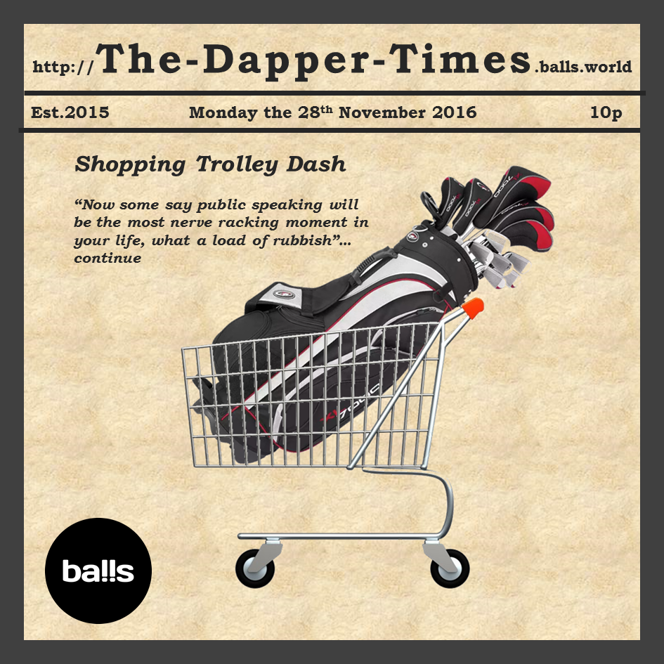 The Singapore Shopping Trolley Dash