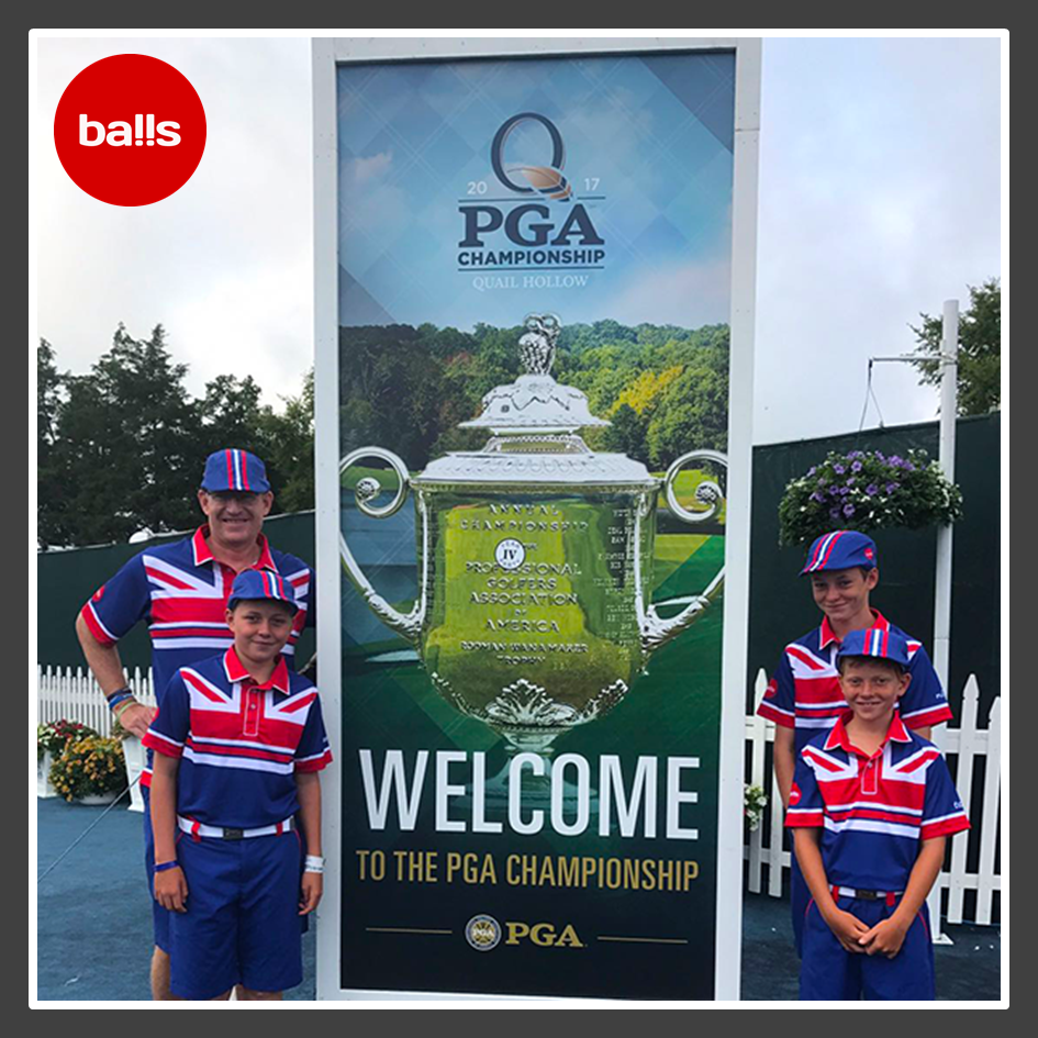 Barrie brexit & his boys visit the USPGA @ Quail Hollow