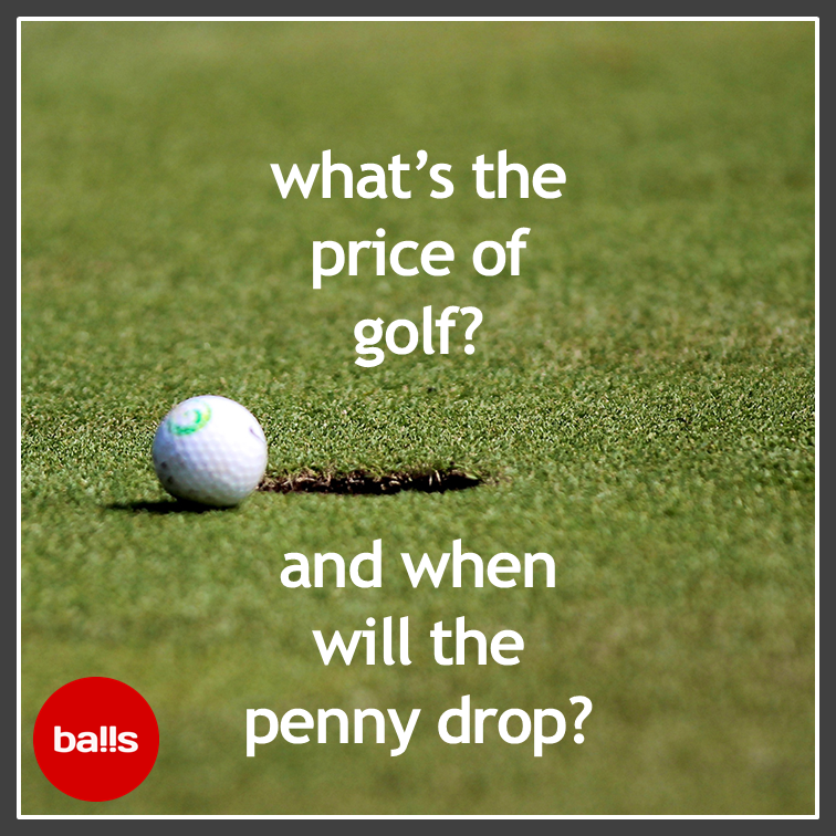What's the price of golf?