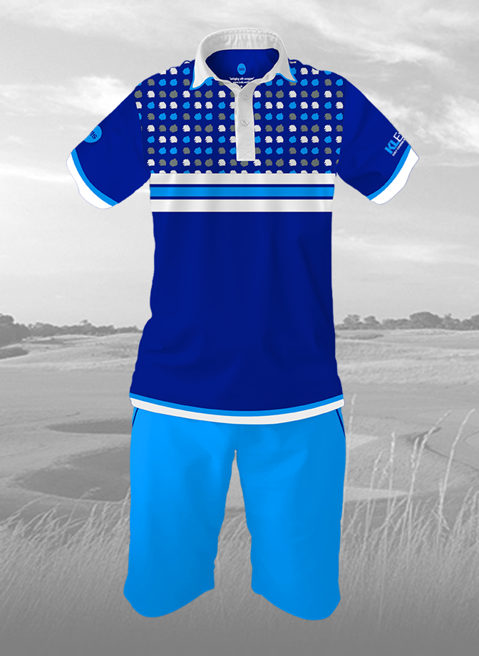KL-Expat Golf -  blue 90's retro