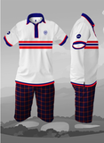 St Andrews - chaps white polo