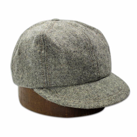 The Wool Cap - Brown/Black Twill - By 18 Waits