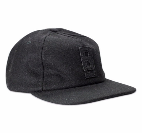 B Flat Bridge and Burn wool cap