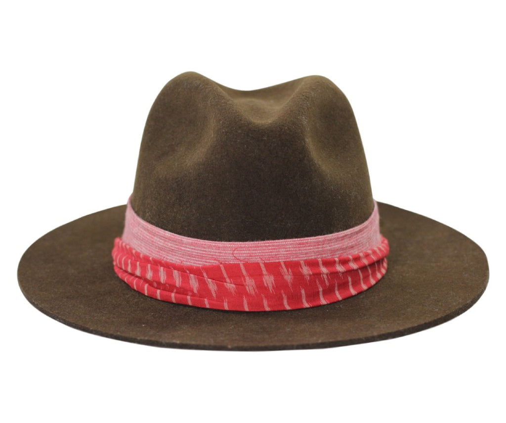 Custom mens fedora only found at TLTD Brim
