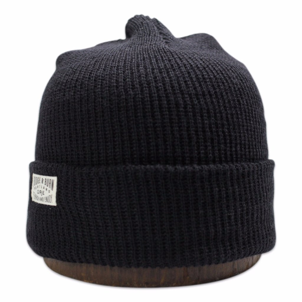 Search and Enjoy Watch Cap - Black