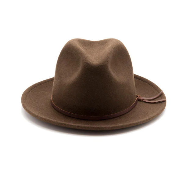 Luke Fedora - Brown