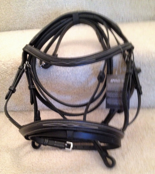 Mio Bridle with Removable Flash from Horseware Ireland