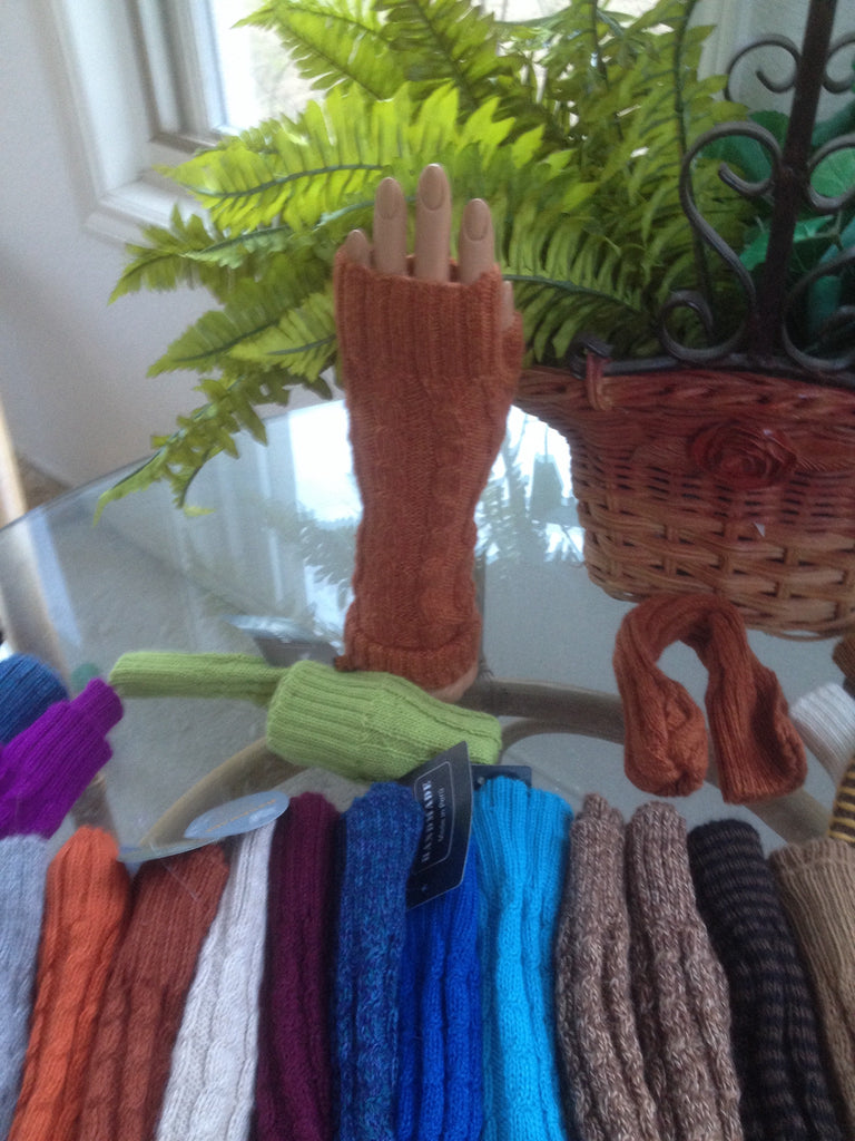 Alpaca Gloves - fingerless