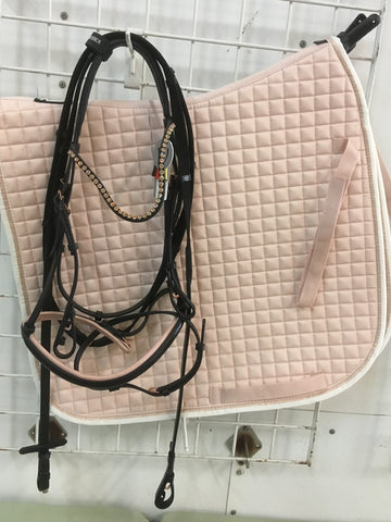 Eskadrone Dressage Saddle Pad - Rose