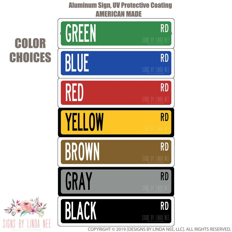 Color choices, Green, Blue, Red, Yellow, Brown, Gray and Black