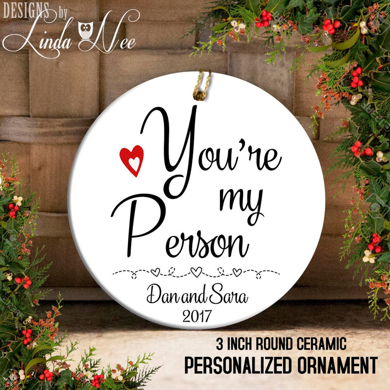 You're My Person Grey's Anatomy Ornament