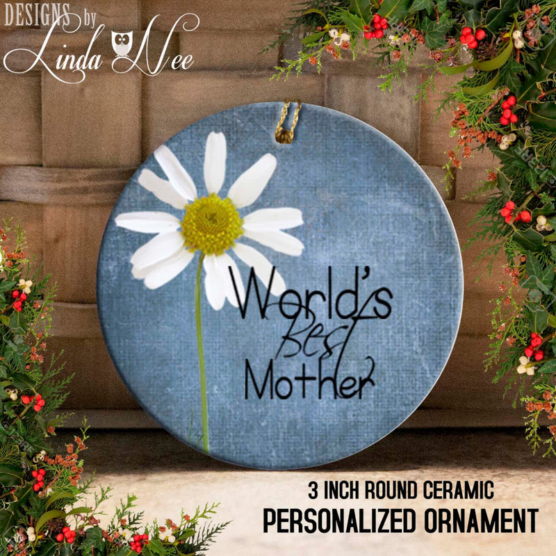 World's Best Mother Ornament
